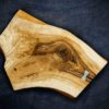 Сервировочная торцевая доска из дуба для подачи еды